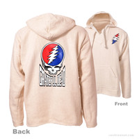 Grateful Dead Steal Your Face Baja Hoodie on Sale for $29.99 at The Hippie Shop