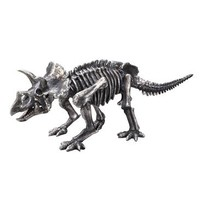 Moe's Home Triceratops Sculpture In Silver