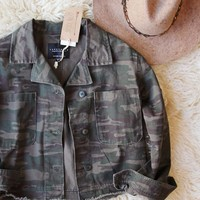 Sanctuary Camo Coat