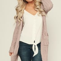 Attention Seeker Cardigan (Lavender)