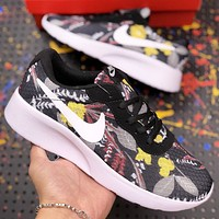 NIKE Wmns Nike Kaishi New fashion hook painted couple shoes