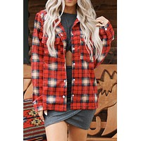 Beach Bonfire Jacket (Red)