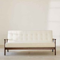 Campbell Vegan Leather Sofa
