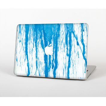 """The Running Blue WaterColor Paint Skin for the Apple MacBook Air 13"""""""