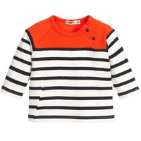 Junior Gaultier Baby Boys Colorful Striped Top
