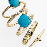 Ariella Collection Stackable Rings (Set of 5)