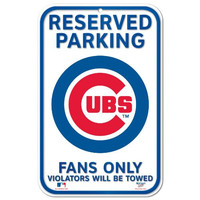 MLB Chicago Cubs 11-by-17 Sign