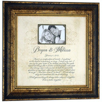 BETTER TOGETHER First Dance Wedding Lyrics Song Vows Personalized Wedding Gift Anniversary Gift ( 16 X 16 )