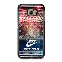 Nike Just Do It Aztec Space Samsung Galaxy S6 case