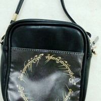 Lord of the Rings LOTR Cross Body Custom Purse Personalized Side Bag