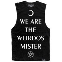 Women's Weirdo Tank Black