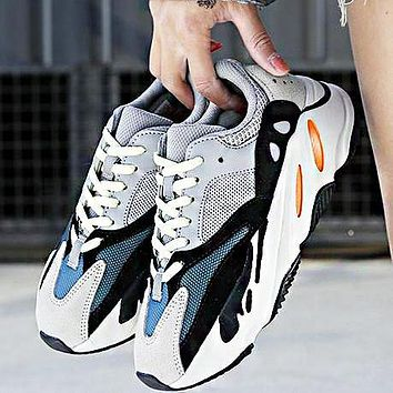 Bunchsun ADIDAS YEEZY 700 BOOST Tide brand men and women retro sneakers old shoes 1#