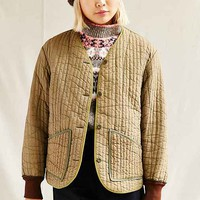 Urban Renewal Vintage Green Button Front Jacket
