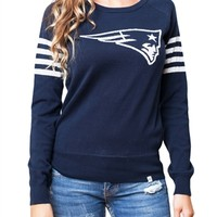 New England Patriots Womens Varsity Sweater | SportyThreads.com