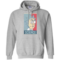 Rick & Morty Science Pullover Hoodie