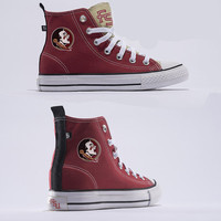 Florida State Official NCAA Skicks Unisex High Top Sneakers