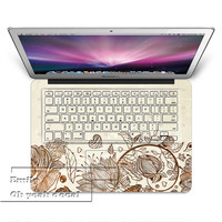 Summer birdkeyboard decal MacBook decal MacBook air sticker MacBook pro decal J-045