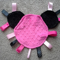 Minnie Mouse Taggie