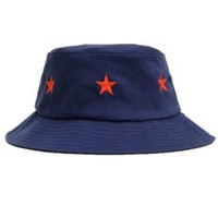CLSC Co., Stars Bucket Hat - Navy - CLSC - MOOSE Limited