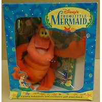 Disney Little Mermaid Cudly Sebastian and Exclusive Gift Paperback 0786842016 -- New