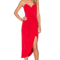 Lovers + Friends x REVOLVE Riviera Strapless Dress in Red