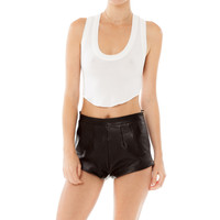 Bambi Leather Short