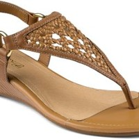 Sperry Top-Sider Laina Demi Wedge Sandal CognacLeather, Size 6M  Women's Shoes