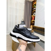 Gucci Men Fashion Boots fashionable Casual leather Breathable Sneakers Running Shoes0316em