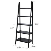 Opentip.com: Casual Home 176-53 5 shelf ladder bookcase, Espresso
