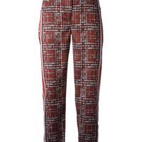 Ostwald Helgason all over patterned trousers