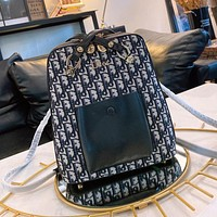 Dior fashion all-match large-capacity backpack bag