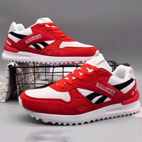 Reebok Men Fashion Casual Sneakers Sports Running shoes Red+Black G-XYXY-FTQ