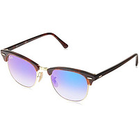 Ray-Ban Clubmaster RB3016 Sunglasses & Cleaning Kit Bundle