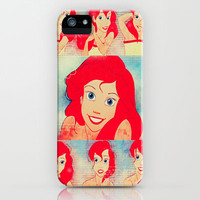The Little Mermaid iPhone & iPod Case by Courtney Marie