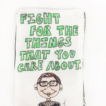 Ruth Quote Coin Purse