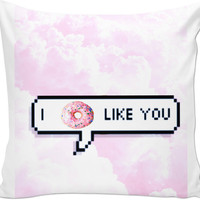 Throw Pillow (I Don't Like You)