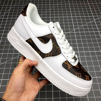 Nike Air Force 1 '07 x LV joint retro sneaker sneakers shoes