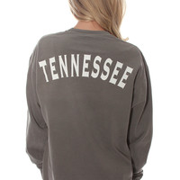 state spirit long sleeve - Tennessee [grey]