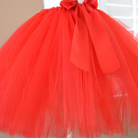 Custom Made Less Full Casual Ribbon Tutu Skirt - For ADULTS and BIG KIDS - Any Length or Colors