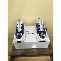 dior fashion men womens casual running sport shoes sneakers slipper sandals high heels shoes 232