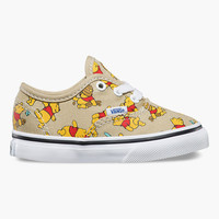 Vans Disney Winnie The Pooh Authentic Toddlers Shoes Multi  In Sizes