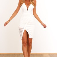Wayward Dress White
