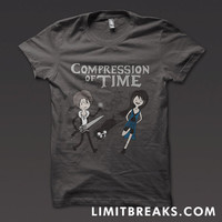 Compression of Time T-Shirt (Final Fantasy VIII/Adventure Time)