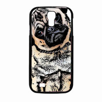 pugs alot dog c63610e4-e58b-4c6c-88ef-9c3e1421dfb0 for Samsung Galaxy S4 Case *02*
