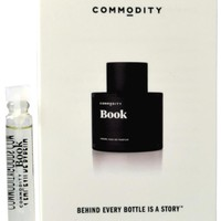Commodity Book Eau De Parfum Vial Sample