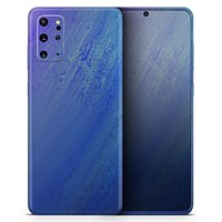 Pastel Blue Surface - Skin-Kit for the Samsung Galaxy S-Series S20, S20 Plus, S20 Ultra , S10 & others (All Galaxy Devices Available)