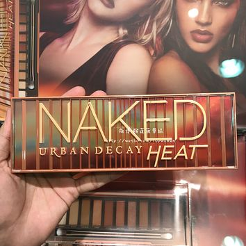 Urban Decay UD decay city eye shadow NAKED HEAT limited  cherry plate  NAKED RELOAD