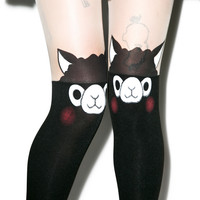 Spree Picky Alpaca Tights Black One