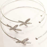 Starfish Triple Bangle Bracelet Set