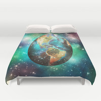 Somewhere in the Universe... Duvet Cover by SensualPatterns